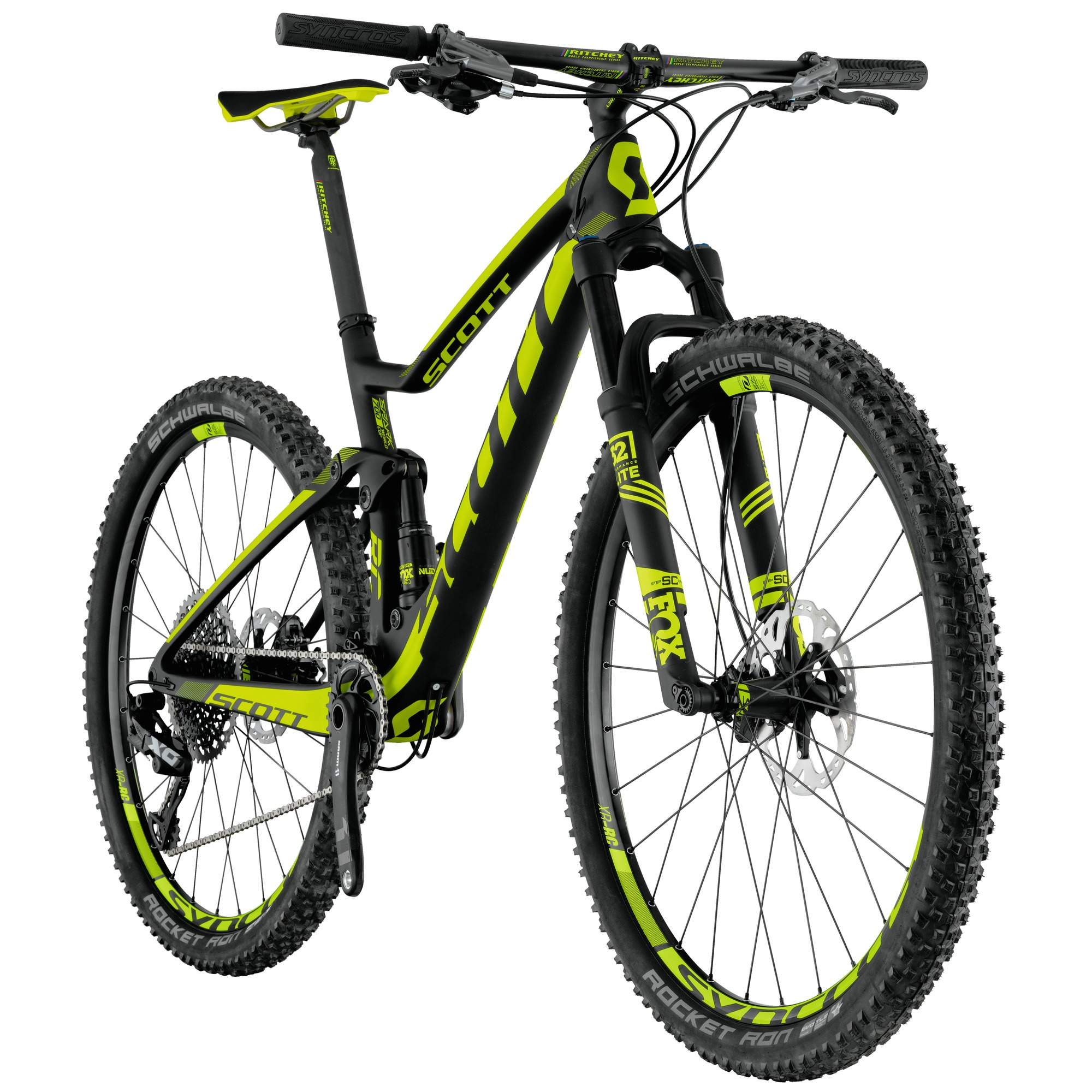 Scott Spark 700 RC Carbon Mountain Bike