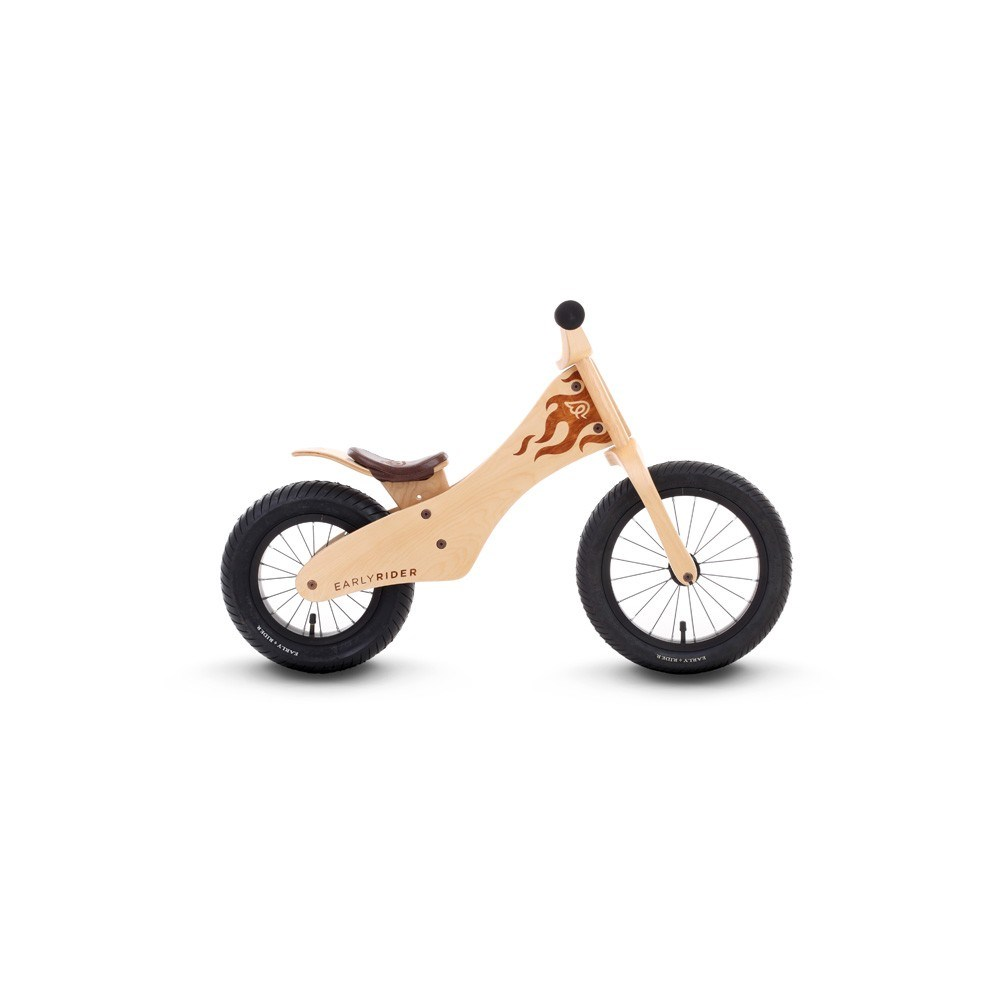early rider classic 12 14 inch natural birch wooden balance bike. Black Bedroom Furniture Sets. Home Design Ideas