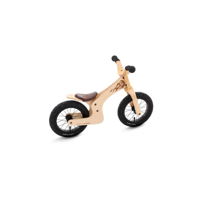 early rider lite natural 12 inch birch wooden balance bike. Black Bedroom Furniture Sets. Home Design Ideas